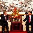 Xi Jinping - Vice President of PRC & Enda Kenny - Taoiseach (Irish PM)